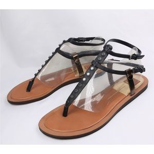 Dolce Vita Double Ankle Strap Flat Thong Sandals